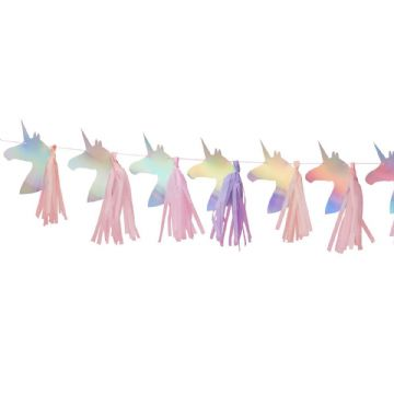 Make a Wish Unicorn Head Bunting